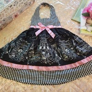 Blueberi Boulevard Halter Dress